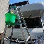 一冬分の洗車