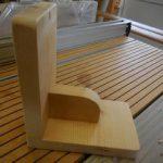 温風誘導調整板の製作