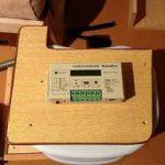 ソーラーコントローラーPV-1212C1Aの取付