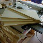 木製ハンガースタンドの製作、その2